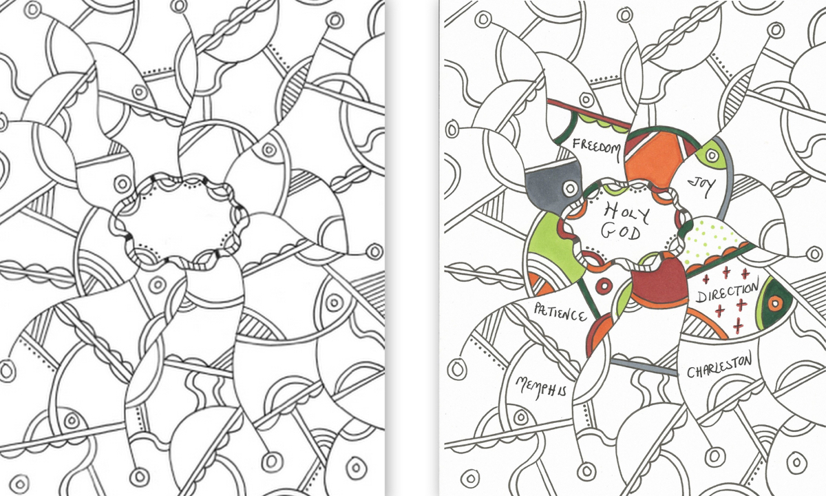 Coloring Template Collage 1 Resized